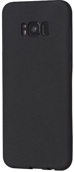 EPICO SILK MATT pružný plastový kryt pro Samsung Galaxy S8+ - černý