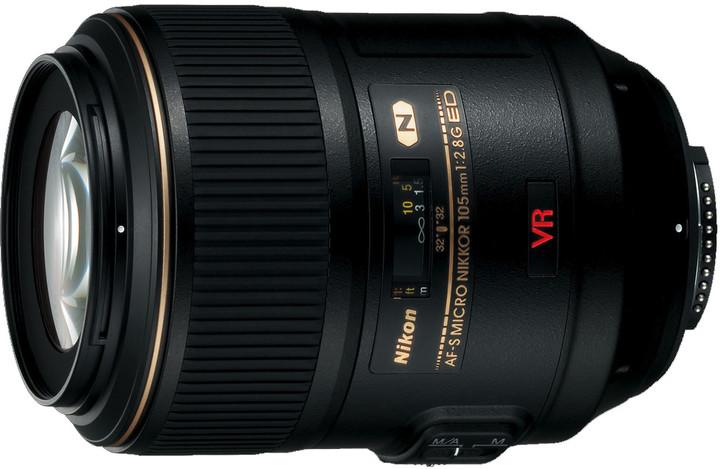 Nikon objektiv Nikkor 105mm f/2.8G AF-S VR Micro