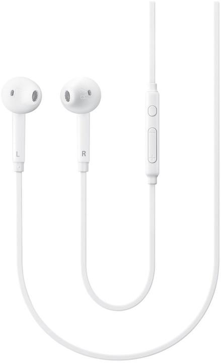 Samsung headset EO-EG920BW, bílá