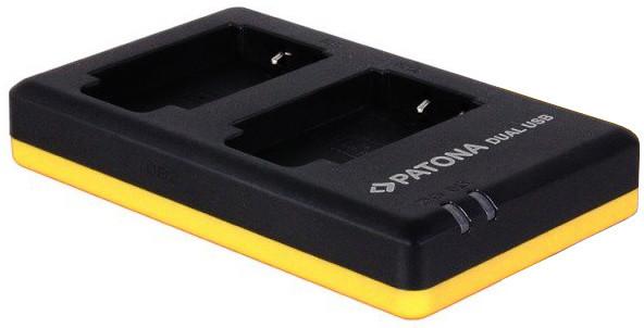 Patona nabíječka Foto Dual Quick Panasonic VBT180/360 USB