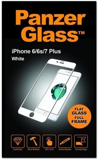 PanzerGlass Premium Full Frame - bílá - pro Apple iPhone 6 Plus, 6s Plus, 7 Plus, 8 Plus