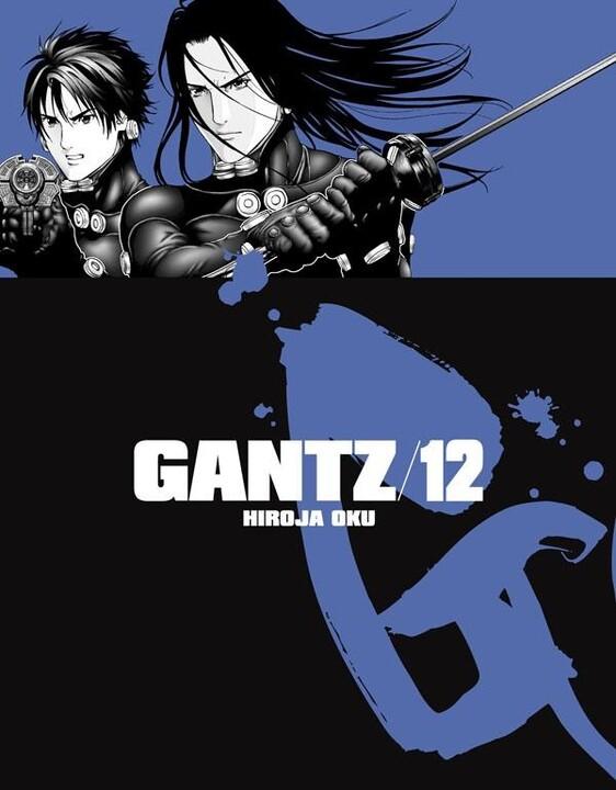 Komiks Gantz, 12.díl, manga
