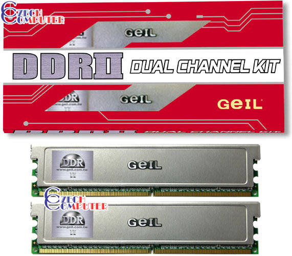 Geil Value 1GB (2x512MB) DDR2 667 (GX21GB5300DC)