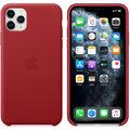 Apple kožený kryt na iPhone 11 Pro Max (PRODUCT)RED, červená
