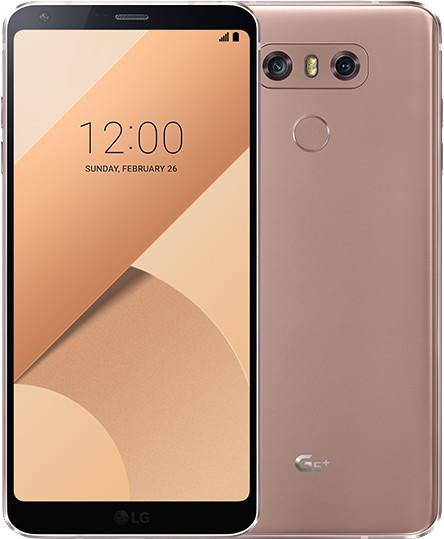 LG G6+ - 128GB, zlatá