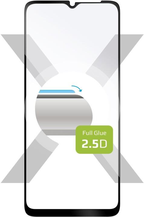 FIXED ochranné tvrzené sklo pro Samsung Galaxy A32 5G, Full-Cover, černá