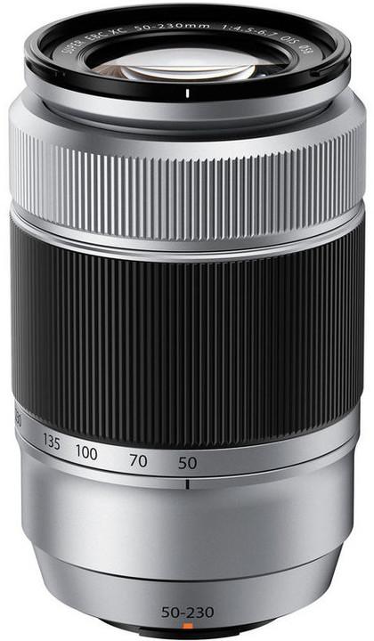 Fujinon XC50-230mm f/4.5-6.7 OIS II, stříbrná