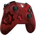 Xbox ONE S Bezdrátový ovladač, Gears of War, červený (PC, Xbox ONE)