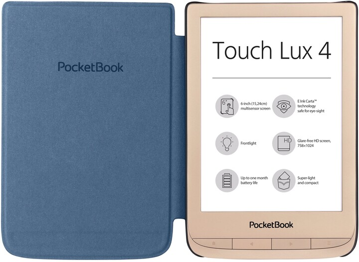 PocketBook 627 Touch Lux 4 Limited Edition, Matte Gold