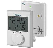 Siemens digitální prostorový termostat RDH100/SET, s kolečkem, bezdrátový - RDH100RF/SET