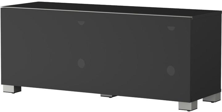 Meliconi 500403 TV stolek, textilní 12040F, černá