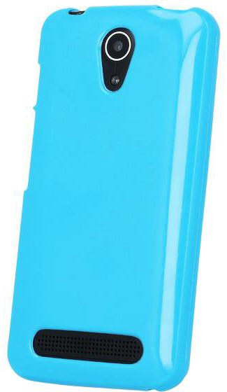 myPhone silikonové (TPU) pouzdro pro POCKET, modrá