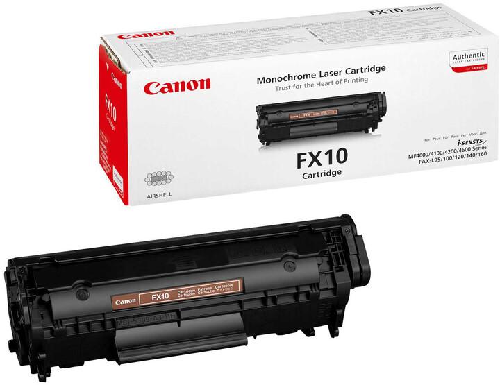 Canon FX-10, černý