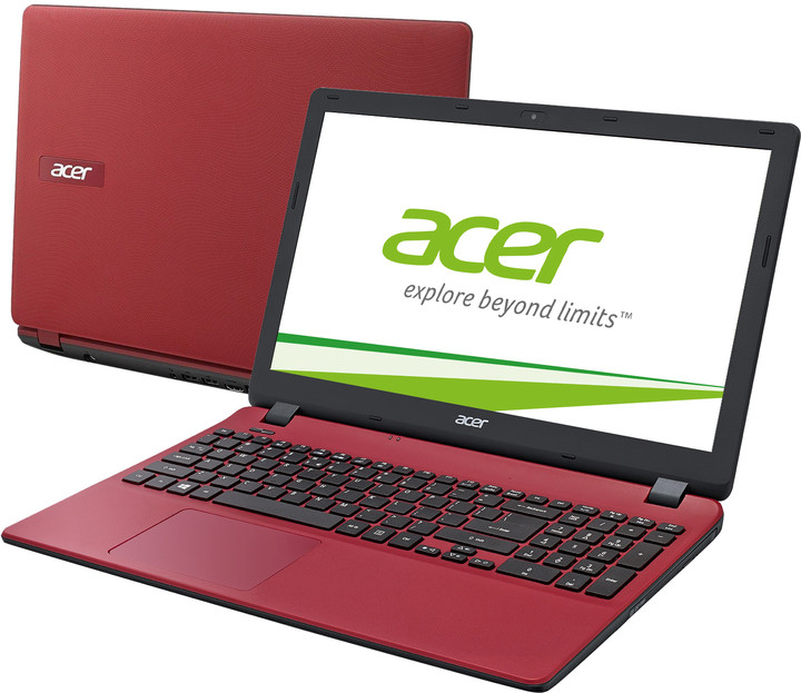 Acer Aspire ES15 (ES1-571-C8EG), červená