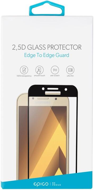 EPICO GLASS 2,5D Tvrzené sklo pro Huawei Honor 7X, černé
