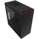 NZXT S340, USB 3.0, černá s červenou  + Voucher až na 3 měsíce HBO GO jako dárek (max 1 ks na objednávku)