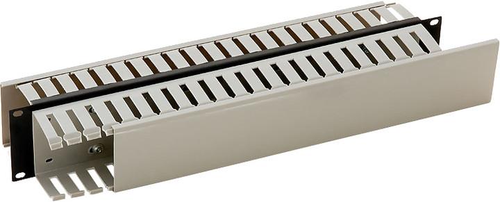 """Triton vyvazovací panel RAX-VP-X05-A1, 19"""", 2U, oboustranná plastová lišta"""
