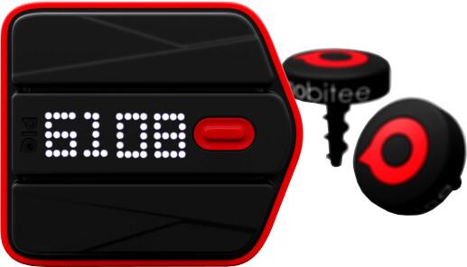 PIQ univerzální sportovní senzor + golfová sada Mobitee