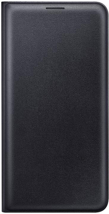 Samsung flip. pouzdro s kapsou pro Galaxy J7 2016, Black