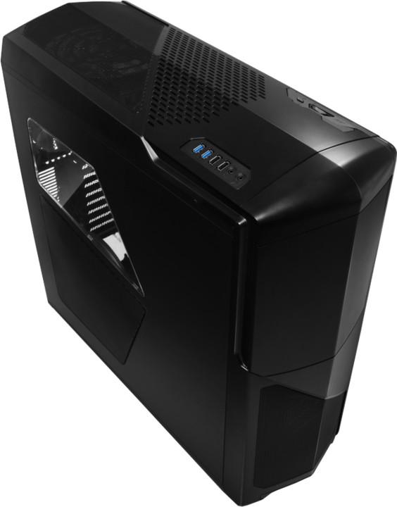 NZXT Phantom 630, matná černá