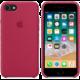 Apple silikonový kryt na iPhone 8/7, vínová