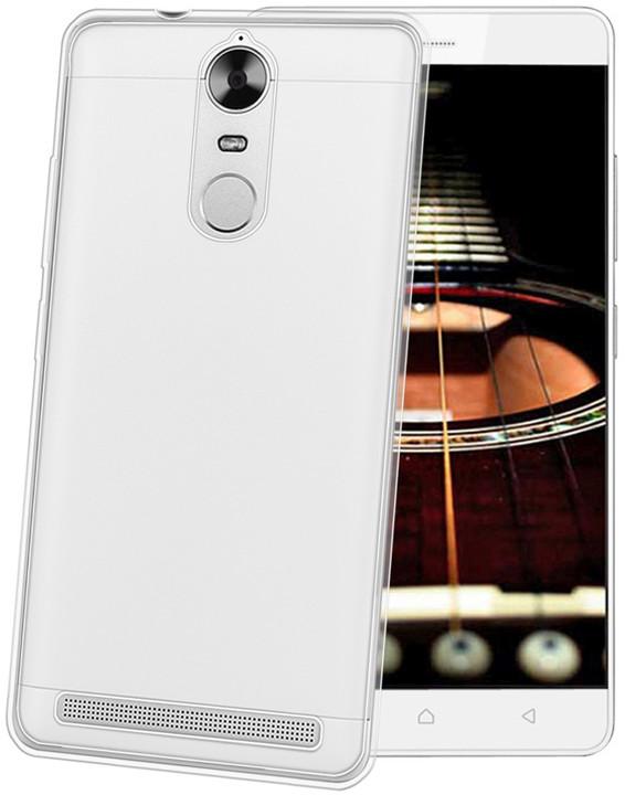 CELLY Gelskin TPU pouzdro pro Lenovo K5 Note, bezbarvé