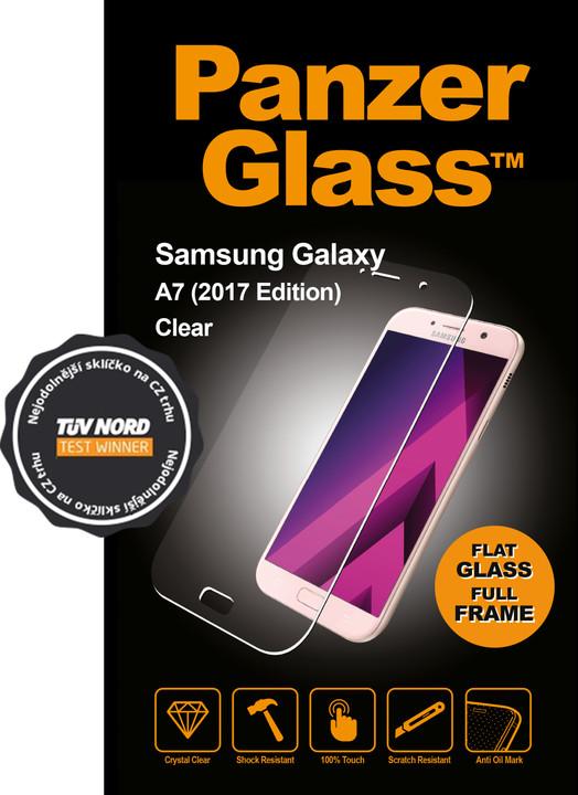 PanzerGlass, ochranné sklo, pro Samsung Galaxy A7 (2017), křišťálově čistá