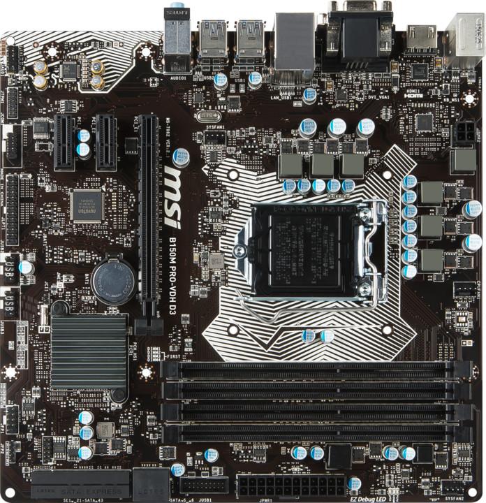 MSI B150M PRO-VDH D3 - Intel B150