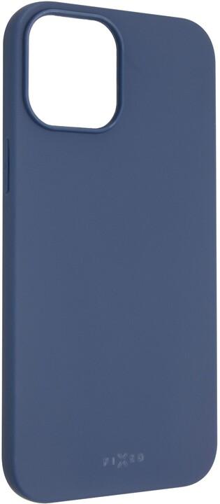 "FIXED pogumovaný kryt Story pro iPhone 12 Pro Max (6.7""), modrá"