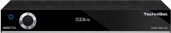 TechniSat Digit ISIO S2, černá
