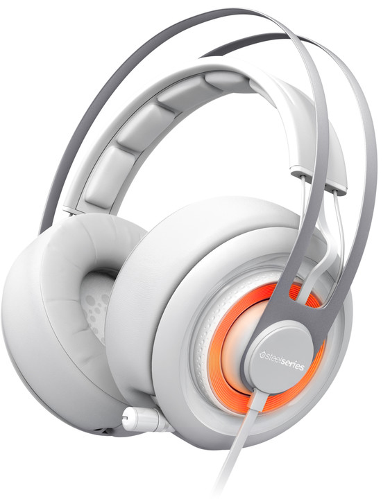 SteelSeries Siberia Elite Prism, bílá
