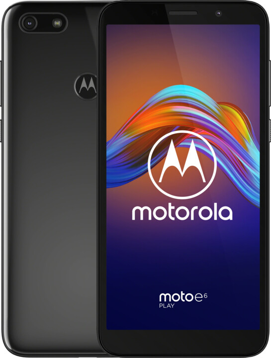 Motorola Moto E6 Play, 2GB/32GB, Steel Black