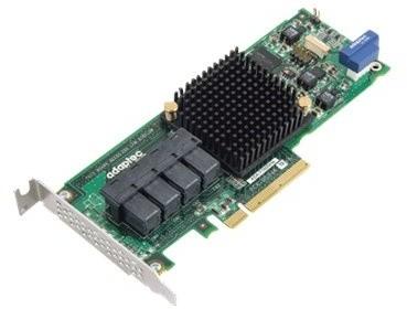 ADAPTEC HBA 71605He Single maxCrypto SAS/SATA 16 int. portů, x8 PCIe