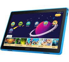 Lenovo TAB P10 side BUMPER + fólie na display, modrá ZG38C02616