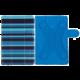 "PORTCASE pouzdro na tablet PC, TBL-470BS, 7-8"", EKO kůže, modré"