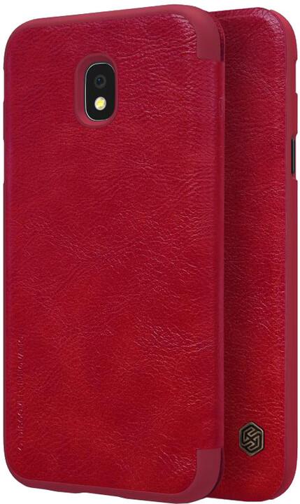 Nillkin Qin Book pouzdro pro Samsung J330 Galaxy J3 2017 - červené