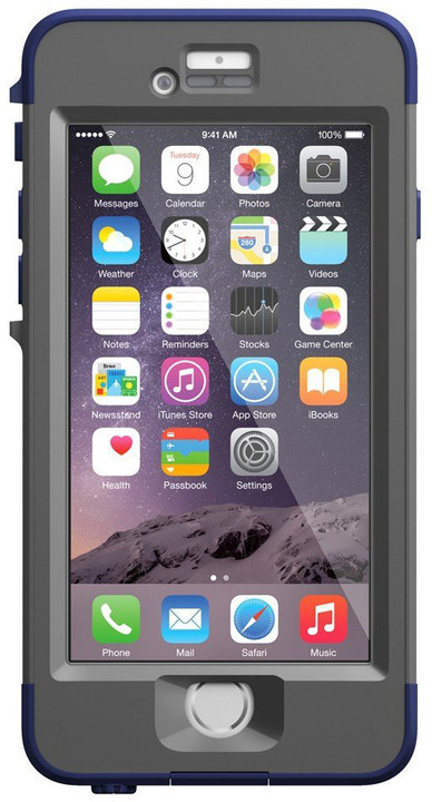 LifeProof Nüüd pouzdro pro iPhone 6, modrá