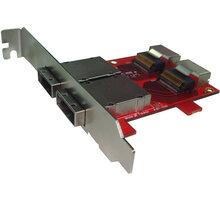 Kouwell ST-187 PCI-E Konvertor miniSAS na SAS