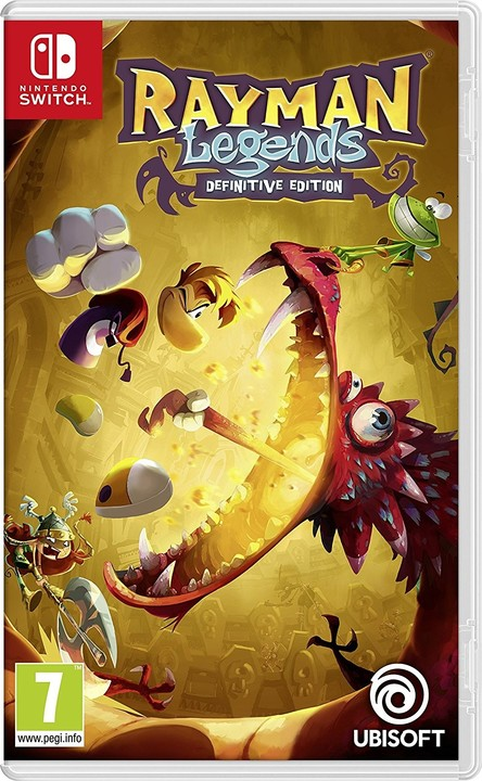 Rayman Legends: Definitive Edition (SWITCH)