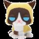 Figurka Funko POP! Grumpy Cat - Grumpy Cat Flocked Special Edition