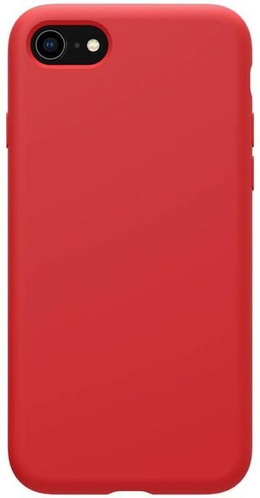 Nillkin silikonové pouzdro Flex Pure Liquid pro iPhone 7/8/SE2020, červená