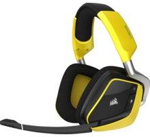 Corsair VOID Pro RGB Wireless SE, žlutá