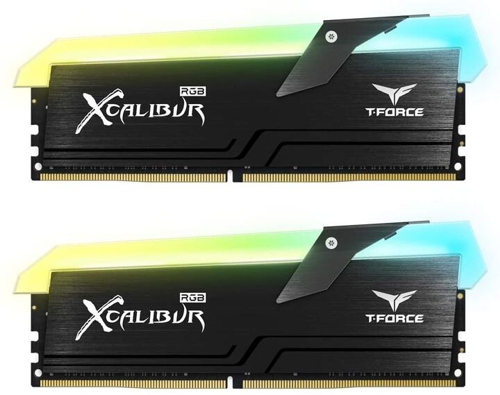 Team T-FORCE XCalibur RGB 16GB (2x8GB) DDR4 4000 CL18, General Edition