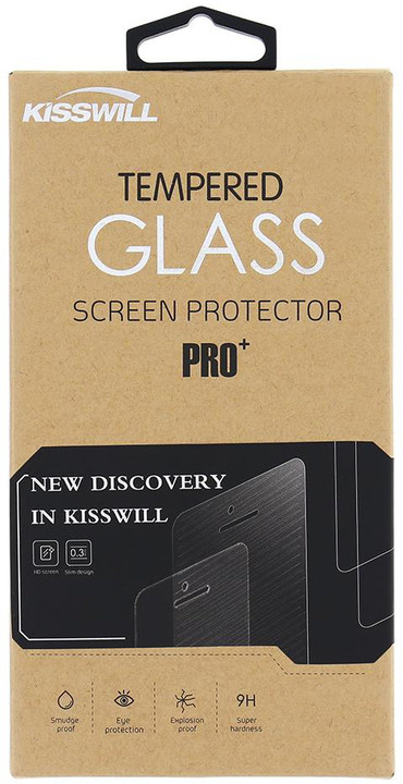 Kisswill Tvrzené sklo 0.3 mm pro Lenovo Moto E