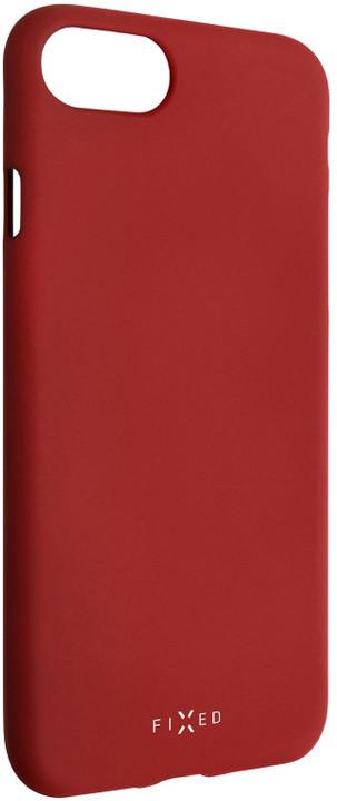 FIXED zadní silikonový kryt Story pro Huawei P Smart (2019), červená