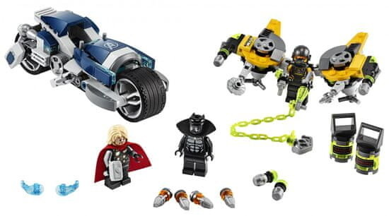 LEGO Marvel Super Heroes 76142 Avengers: Zběsilý útok na motorce