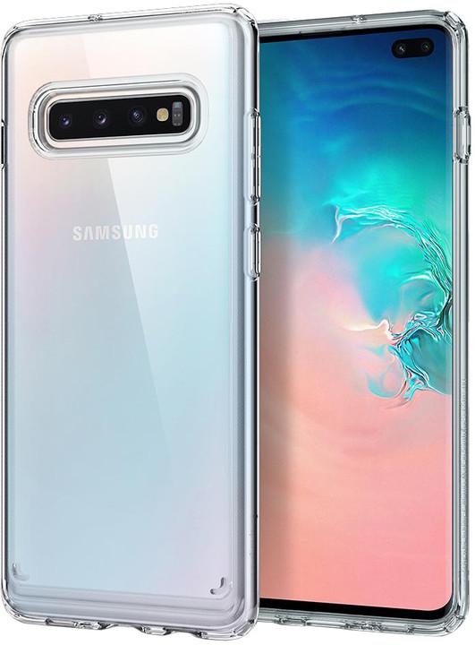 Spigen Ultra Hybrid Galaxy S10+, křišťálově čiré