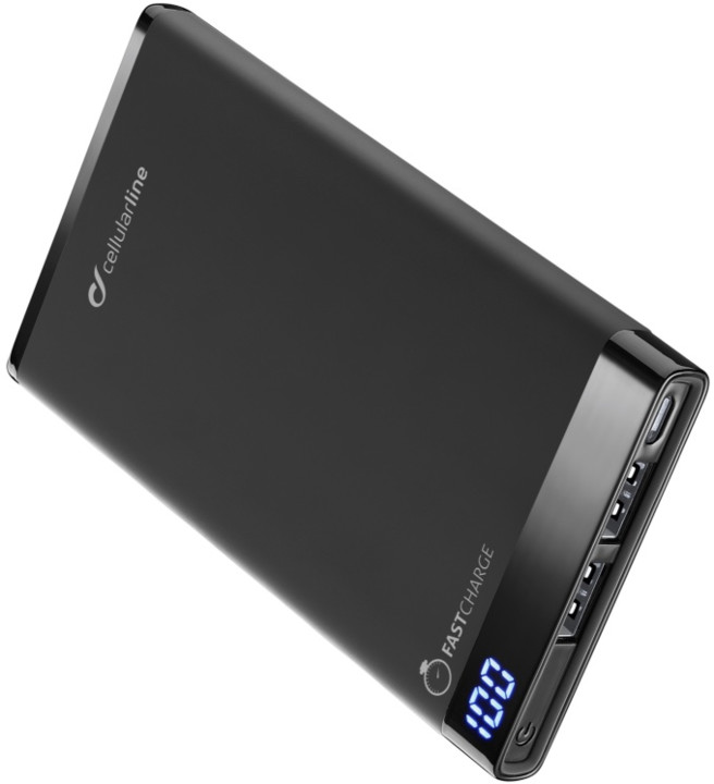 CellularLine FREEPOWER MANTA, 6000mAh, černá