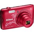 Nikon Coolpix A300, červená lineart