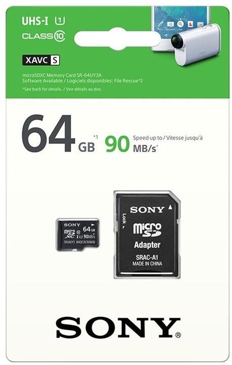 Sony Micro SDXC SR64UYA 64GB Class 10